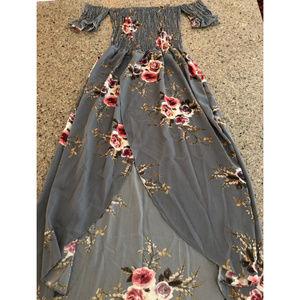 Dresses & Skirts - Off Shoulder Maxi Dress